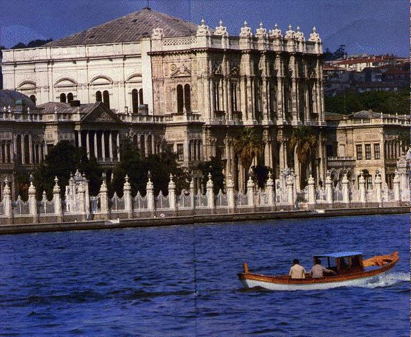 Harika mimari eserler...dolmabahçe sarayı