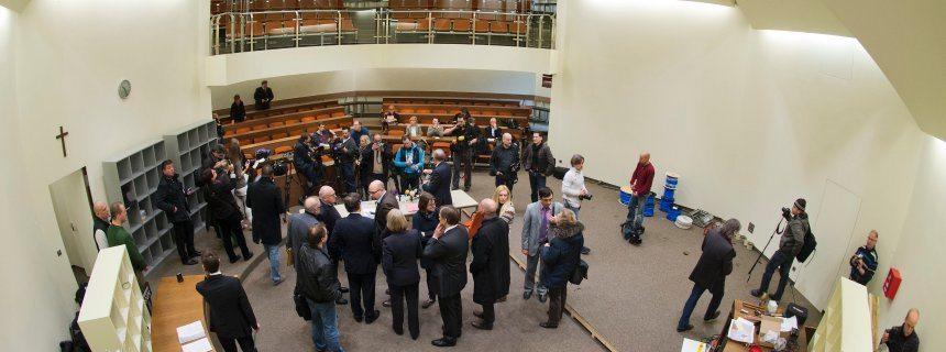 NSU-Prozess - Verhandlungssaal