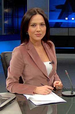Associated Press  Turkish TV presenter Banu Guven in 2004.