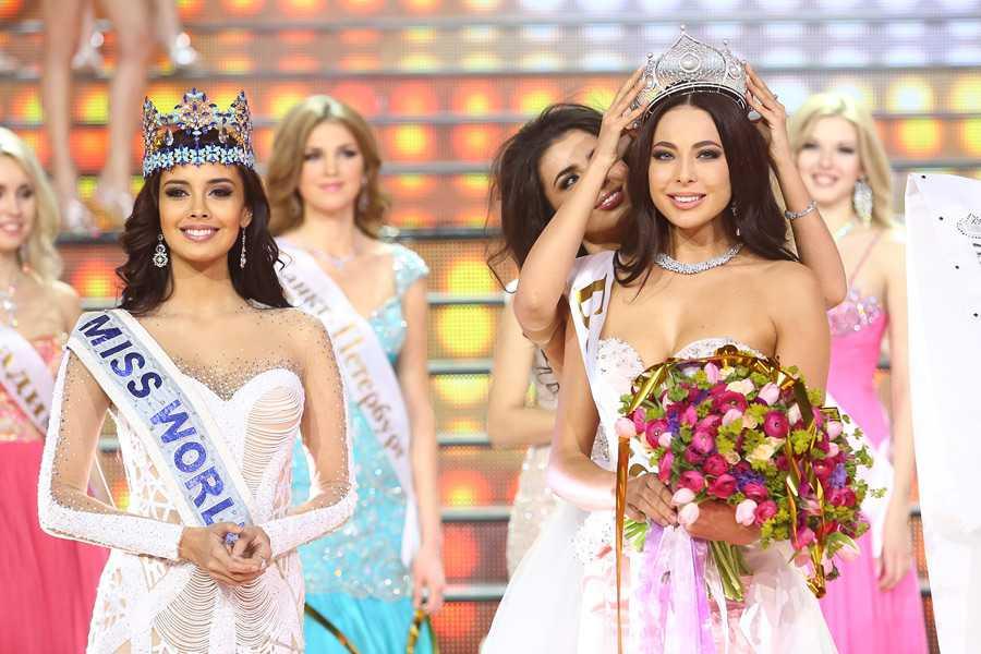 Yulia Alipova Miss Russia 2014