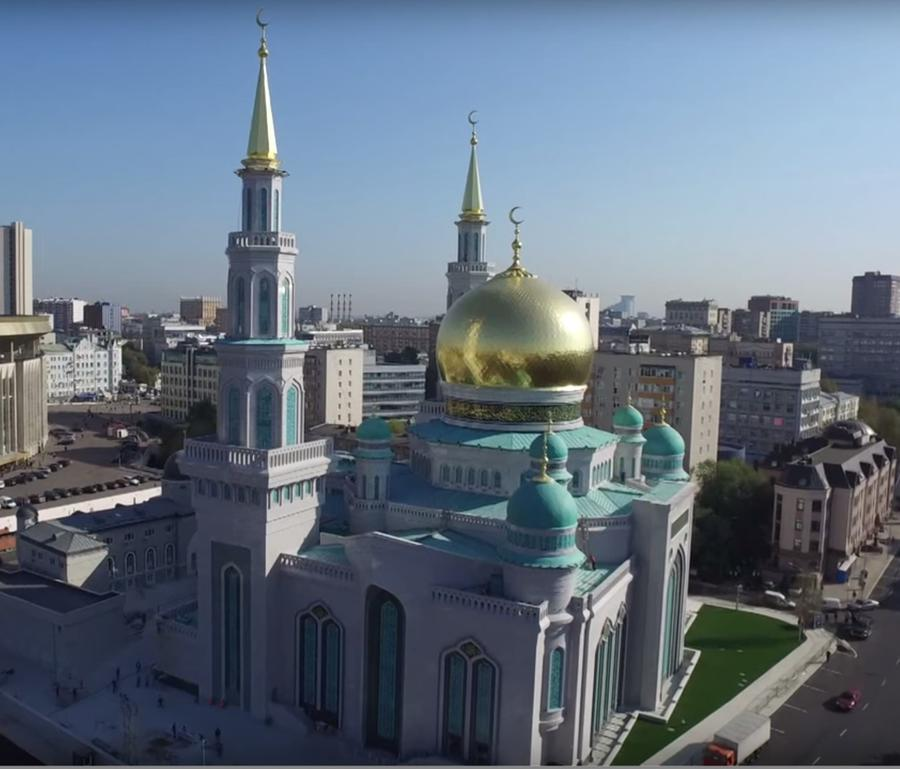 Фотографии московской мечети