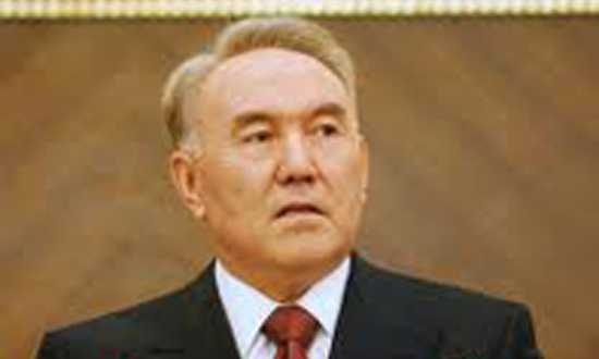 Nursultan Nazarbayev by ATA ATUN