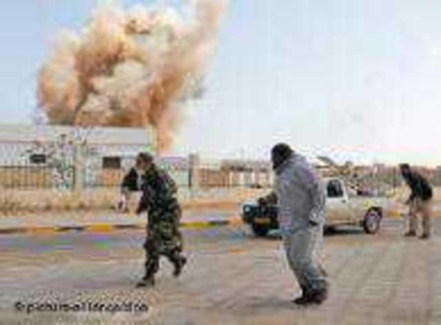 Libya'da başlatılan hava operasyonu devam ediyor
