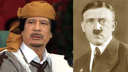 Kaddafi ve Hitler