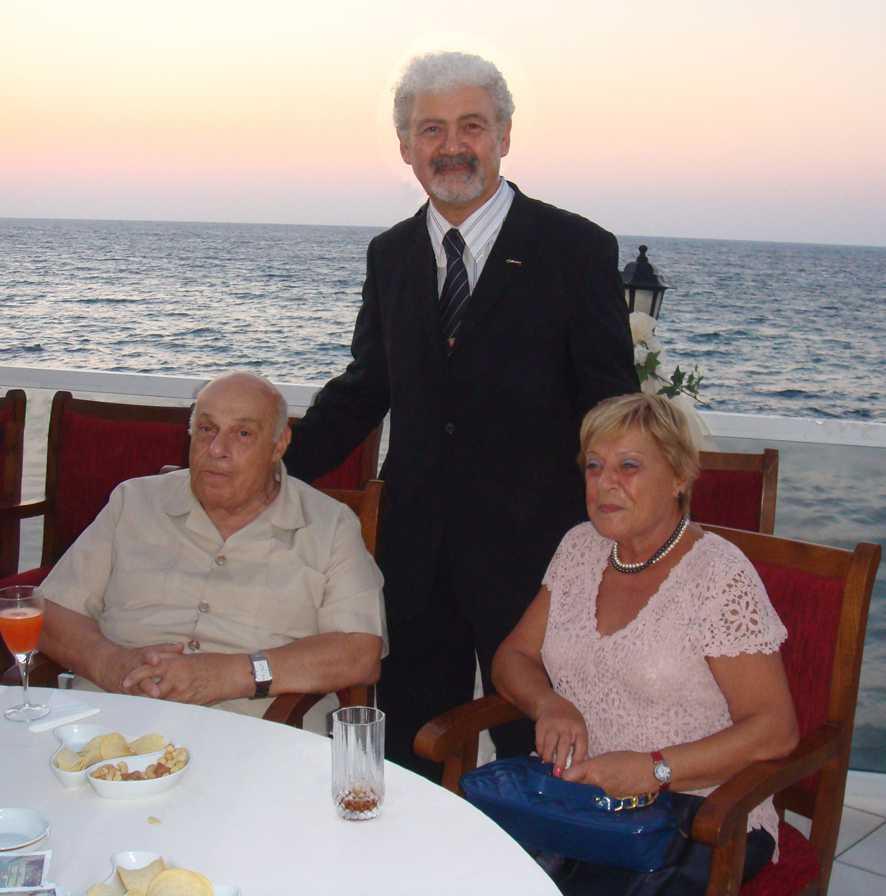 Rauf R. denktaş, eşi Aydın Denktaş ve Ata Atun