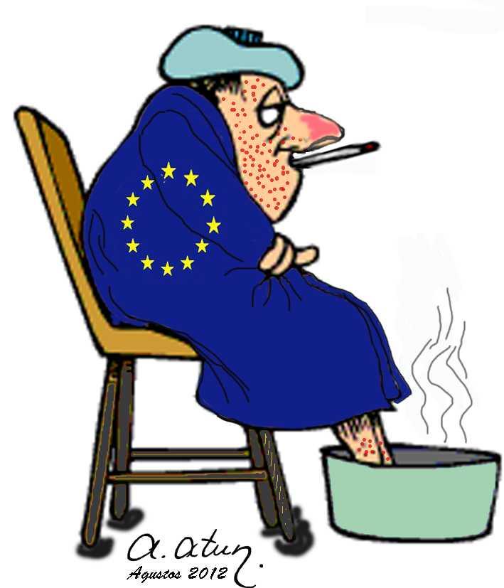 Sick Man: Europa by ATA ATUN