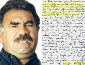 Öcalan'ın daha önce Kandil'e yazdığı mektup