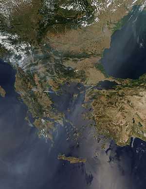 300px-Balkan_Fires,_Earth_from_Aqua_(EOS_PM-1)_(2007-07-25)
