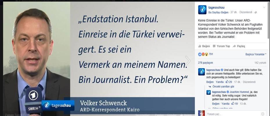 Volker Schwenck Twitter mesajı