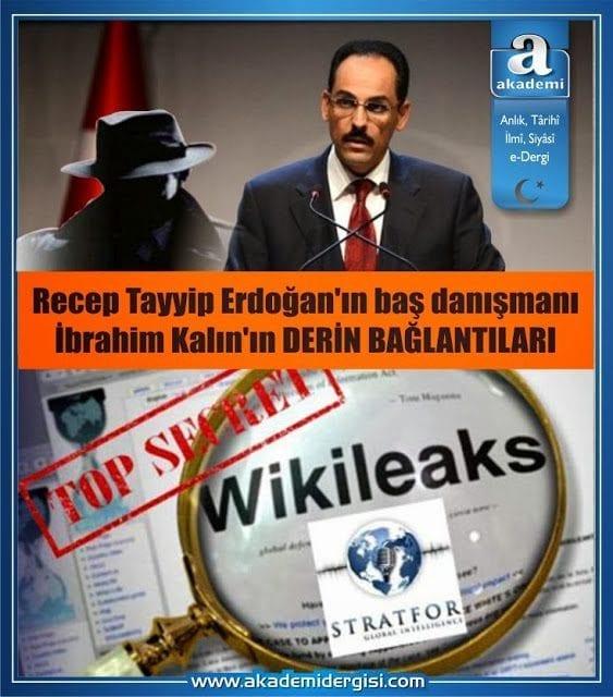 Recep Tayyip Erdoğan'ın danışmanı ibrahim kalın