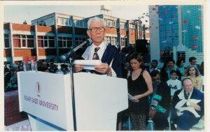 Yakın Doğu Üniversitesi Rektörü Prof. Dr. Hakkı ATUN