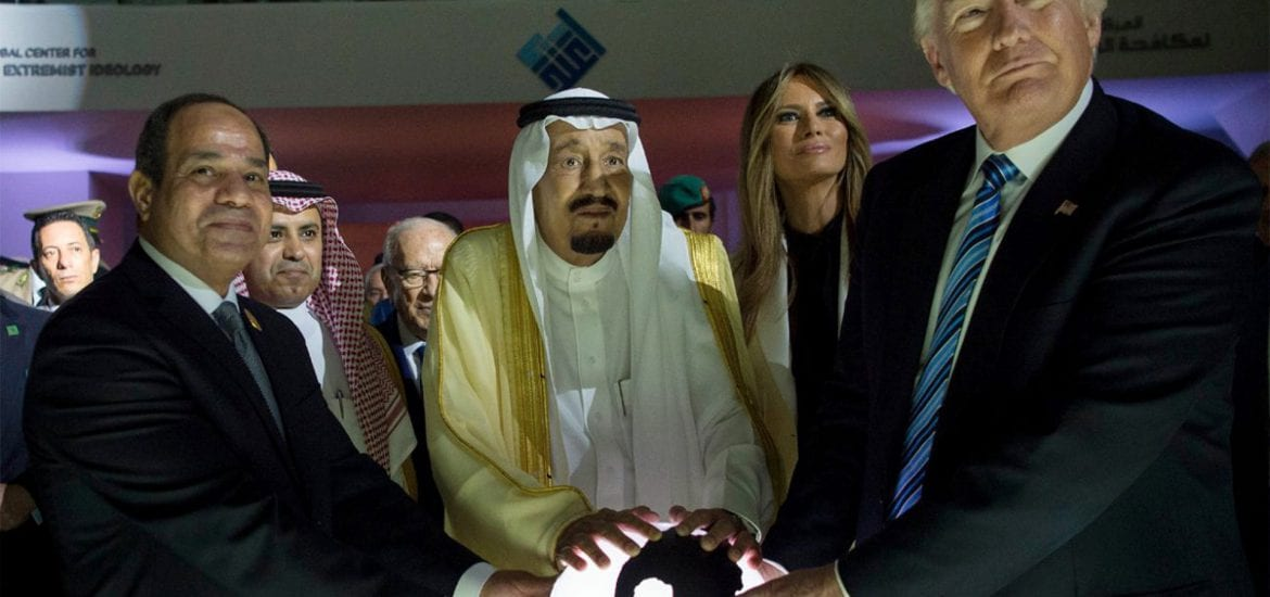 Melania Trump, Donald Trump, Saudi Arabia King