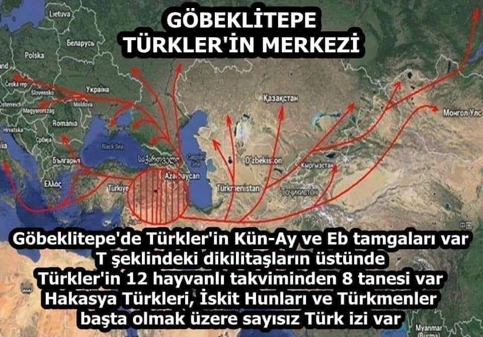Türkler orta asyadan gelmedi
