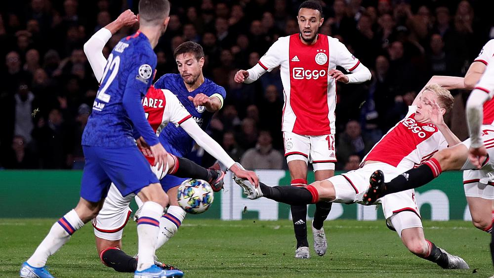 Şampiyonlar Ligi'nde 4-4'lük maç: Chelsea-Ajax