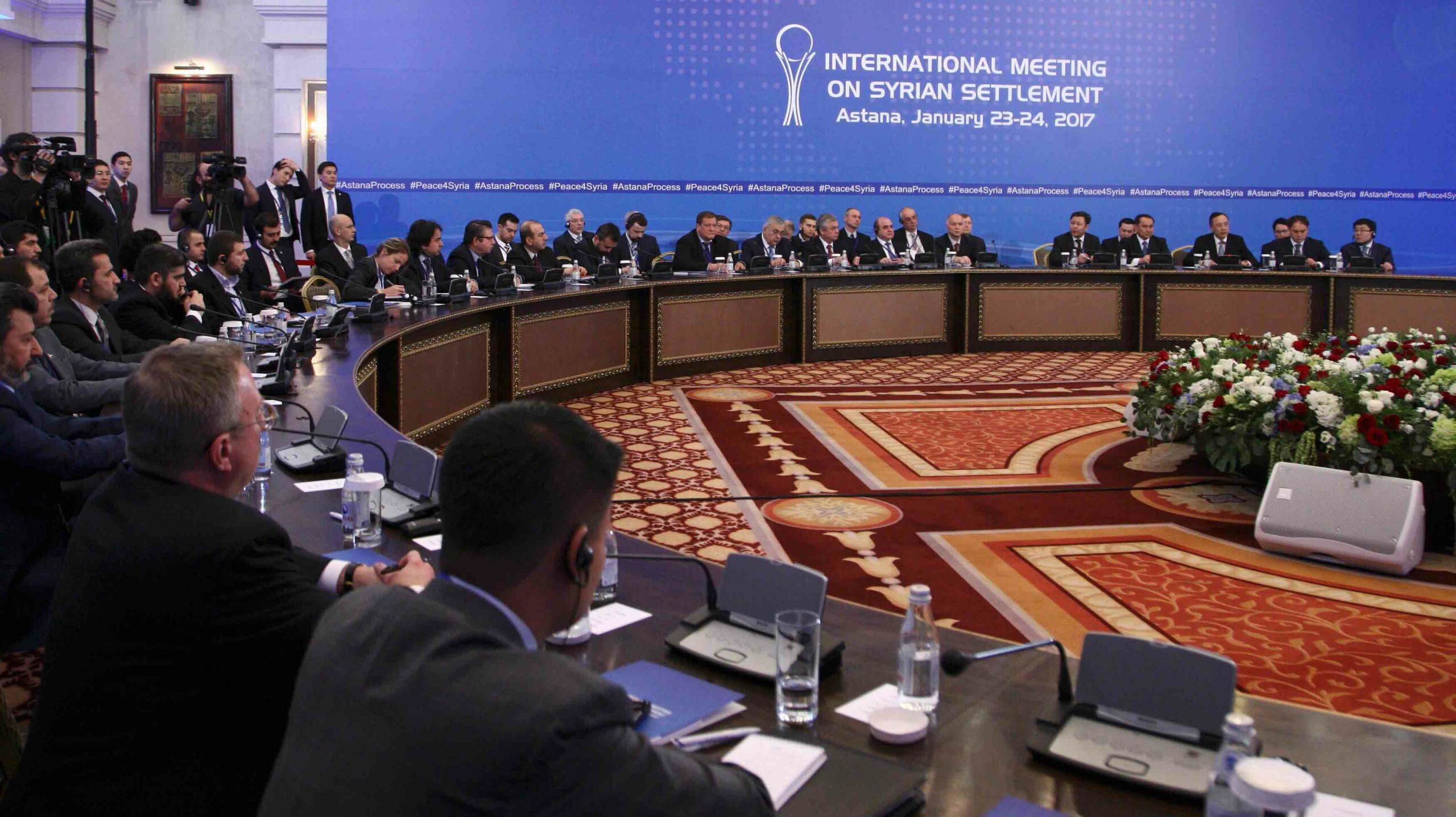 Muhalifler Astana'ya katılımı askıya aldı | Al Jazeera Turk