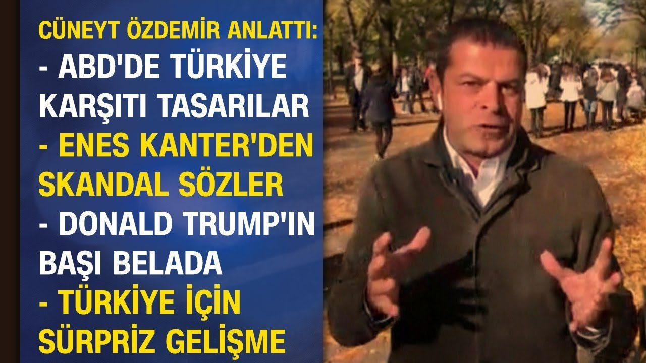 Cüneyt Özdemir'den ABD'deki Türkiye gelişmeleri hakkında çok önemli açıklamalar