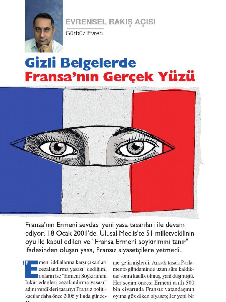 Gizli Belgelerde Fransa'nın Ermeni Politikası Gürbüz Evren