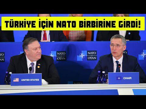Nato Türkiye İçin Birbirine Girdi