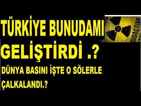 YOKSA TÜRKİYE BUNUDAMI ÜRETTİ .!!  DIŞ BASIN ÇALKALANDI ..!!