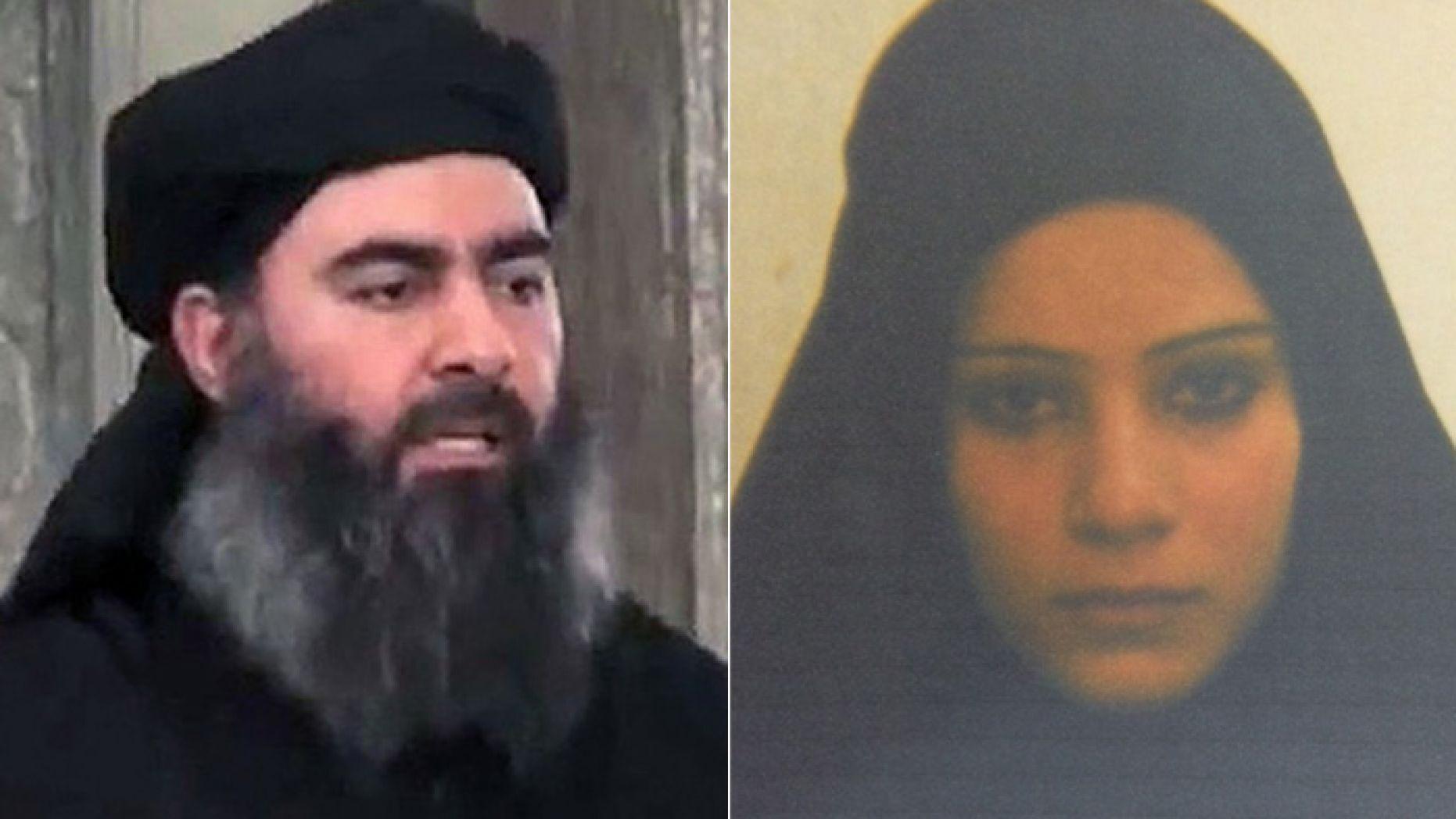 Bağdadi ve karısı