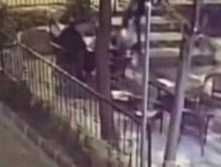 Fatih'te iş adamına suikast anını kameralar kaydetti
