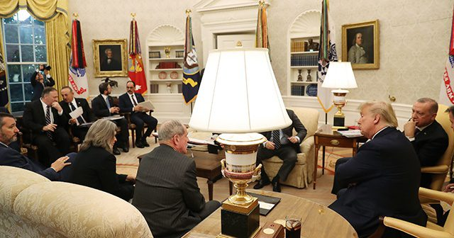 """Trump: """"Çok harika ve verimli bir görüşme gerçekleştirdik"""""""