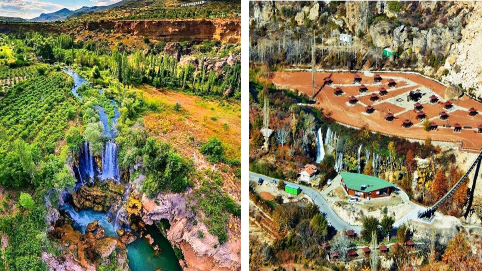 Doğal sit alanı Yerköprü Şelalesi inşaat şirketine devredildi