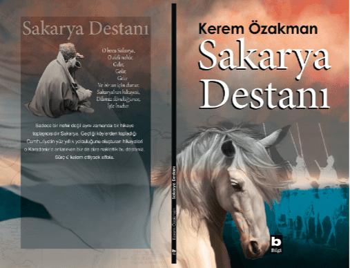 Kerem Özakman'ın Sakarya Destanı kitabı kapağı