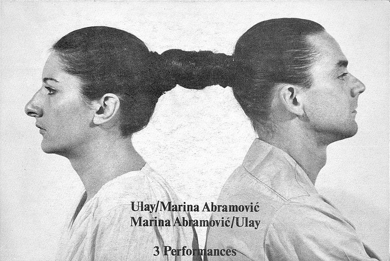 Marina Abramović ve Ulay
