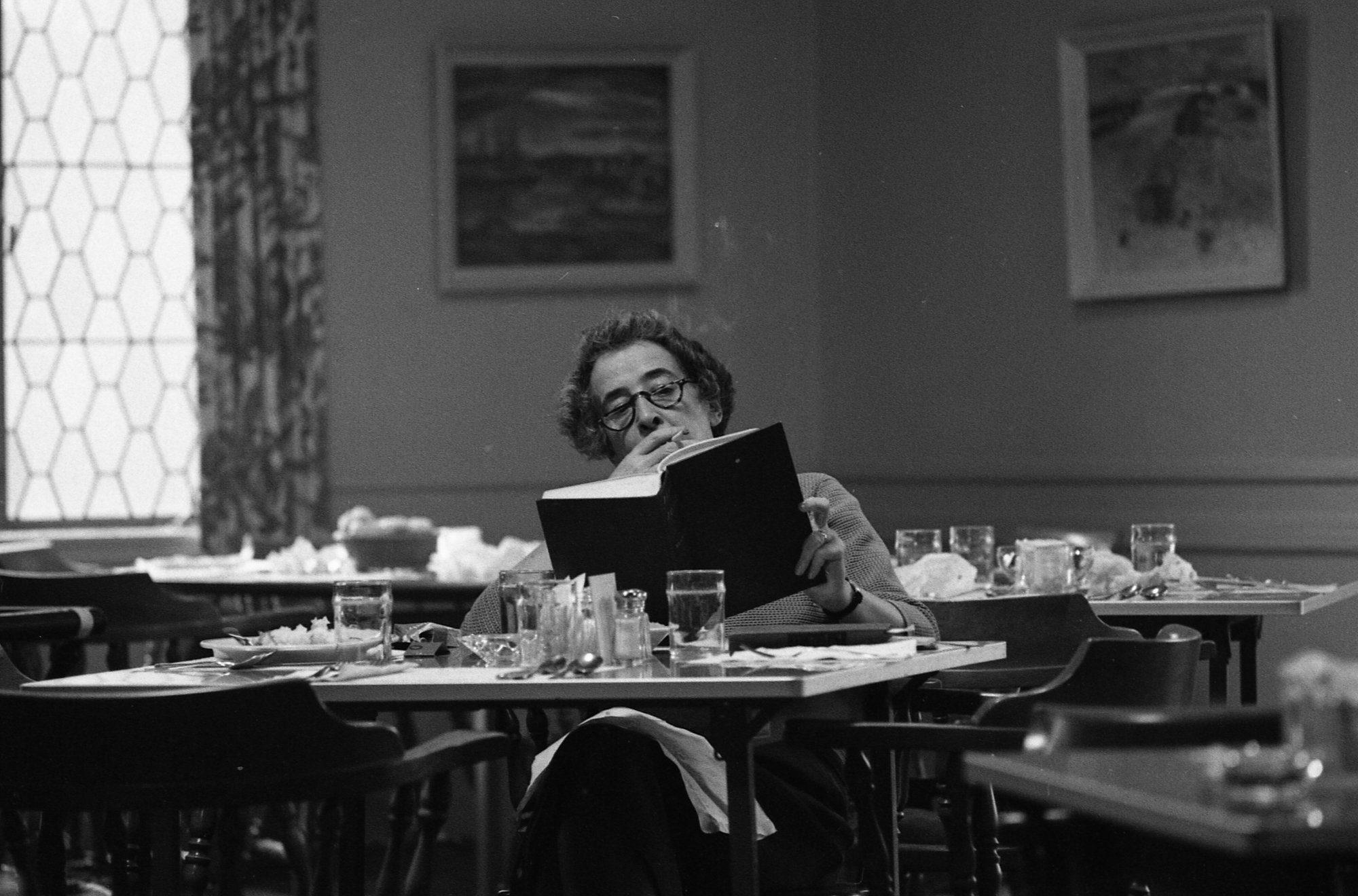 siyaset bilimcidir Hannah Arendt