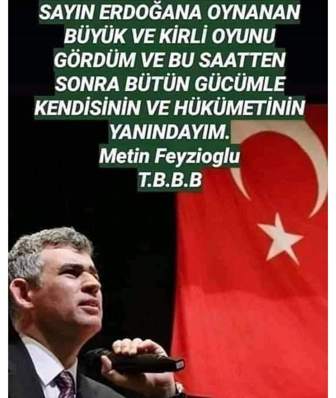 Metin Feyzioğlu Türkiye Barolar Birliği Başkanı