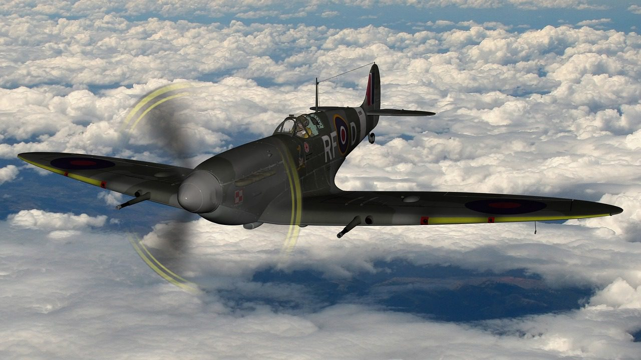 spitfire ingiliz savaş uçağı