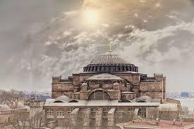 Fatih Cami yapmadan önce Ayasofya