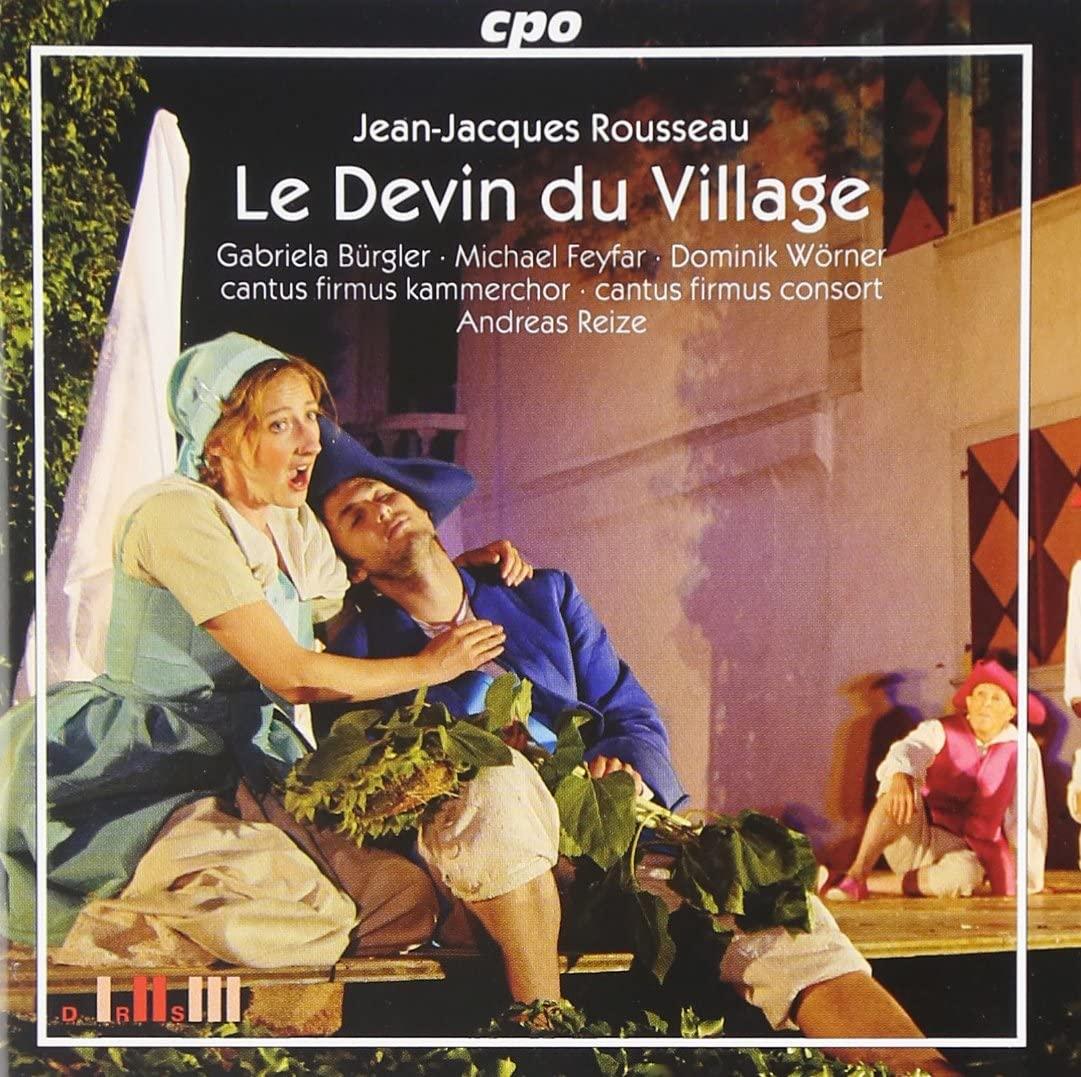 """Jean-Jacques Rousseau, """"le Devin du village"""""""