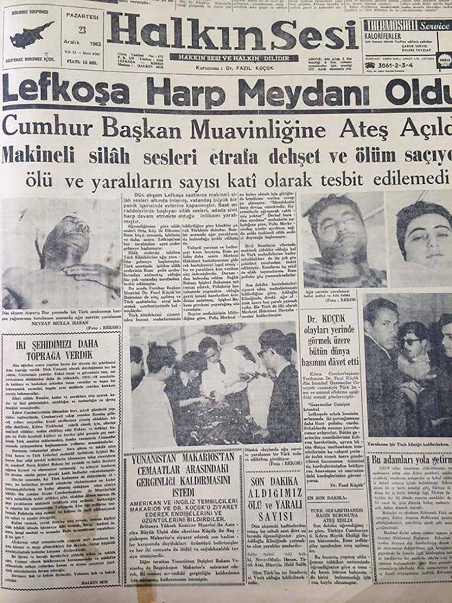 21 Aralık 1963 - Kıbrıs'ta Rumlar Türklere saldırdı