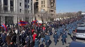 Ermenistan'da ordu muhtırası sonrası orta yol arayışları sürüyor - Son  Dakika Haberler Milliyet