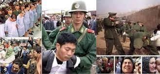 Fotoğrafların Doğu Türkistan'daki Çin zulmünü gösterdiği iddiası
