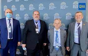 Kırımoğlu ve Çubarov, ADF'de QHA'ya konuştu: Kırım Platformu...